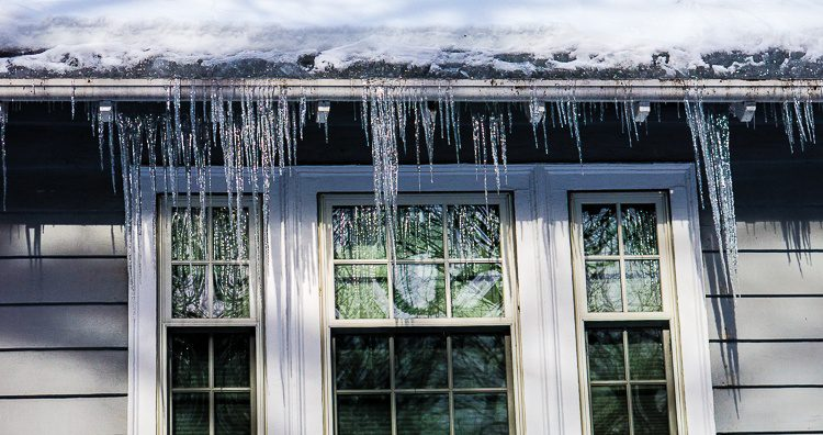 Icicles make the best decorations.