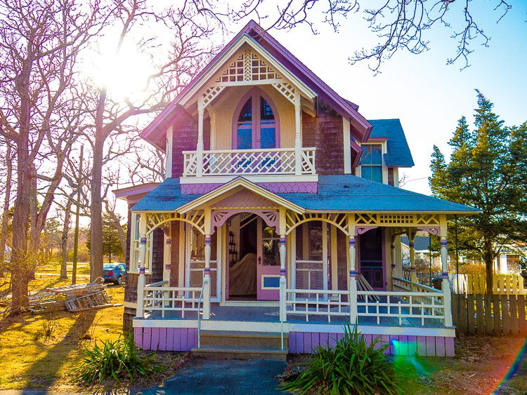 Love the pink houses best!