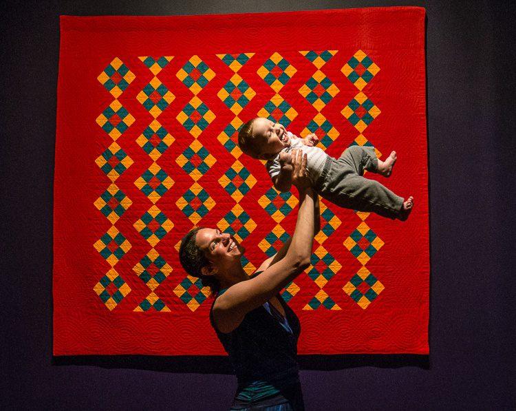 Quilt art exhibit