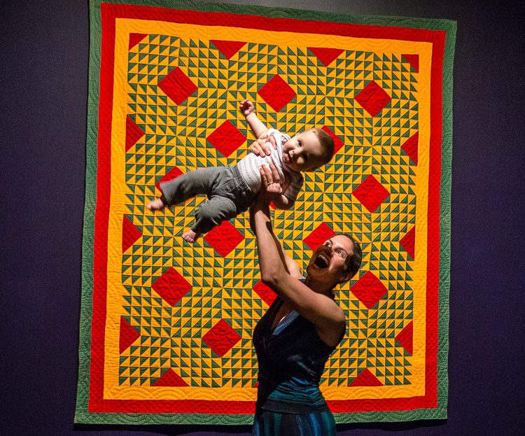 Quilts and Color exhibit at Boston's Museum of Fine Arts