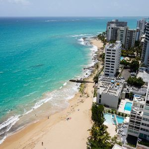 What an Amazing Oceanfront Hotel View, Puerto Rico!