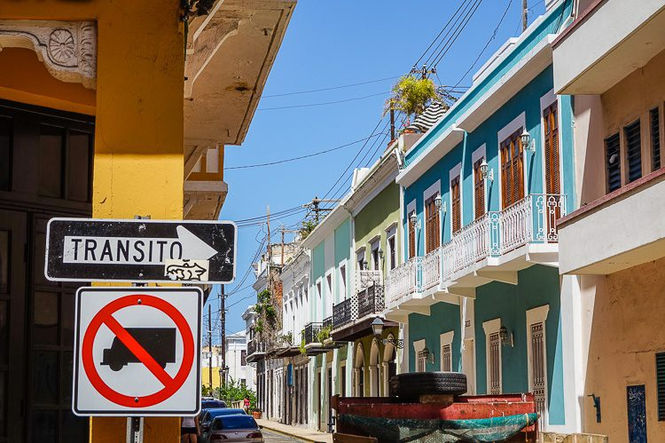 Beware of all the One Way streets in Old San Juan!