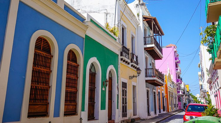 The upkeep of most of the buildings in Old San Juan is exceptional.