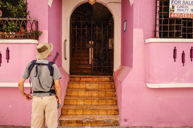 Pint building in Old San Juan