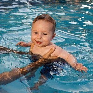A San Juan, Puerto Rico Resort Pool for Baby's First Swim