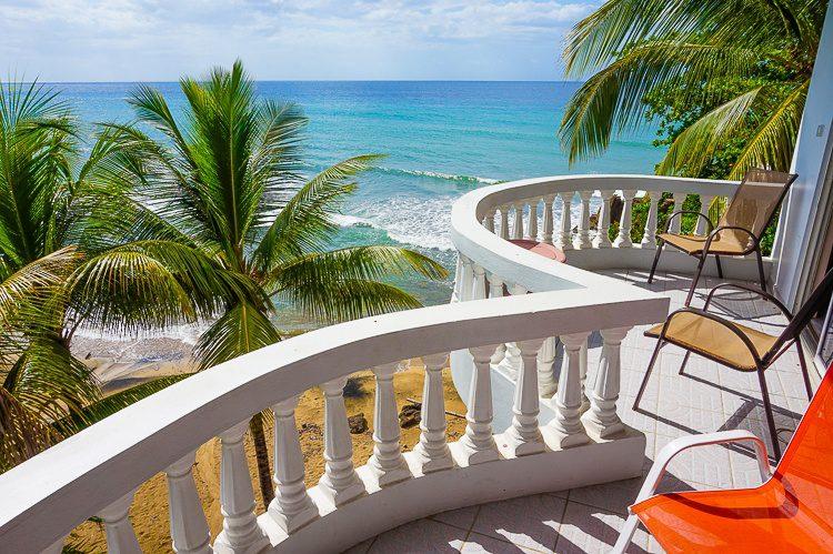 The most beautiful beach balcony I've ever experienced.