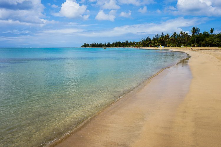 Gorgeous Luquillo Beach is easiest to get to by car.