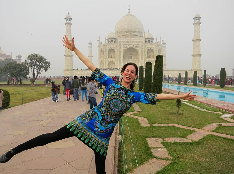 Yay, Taj Mahal! But wait -- This isn't the best photo spot!