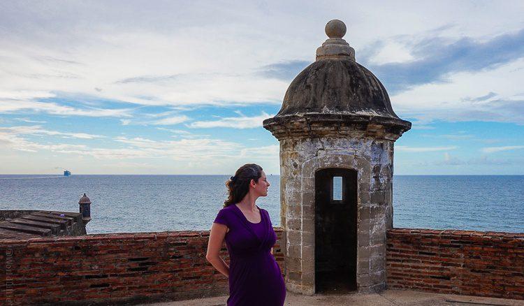 Flashing my white side-streak in Old San Juan, Puerto Rico.