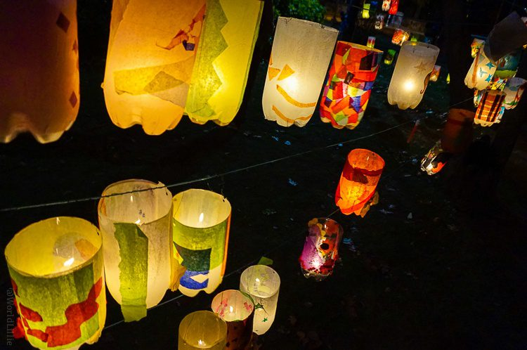 Beautiful lantern craft project