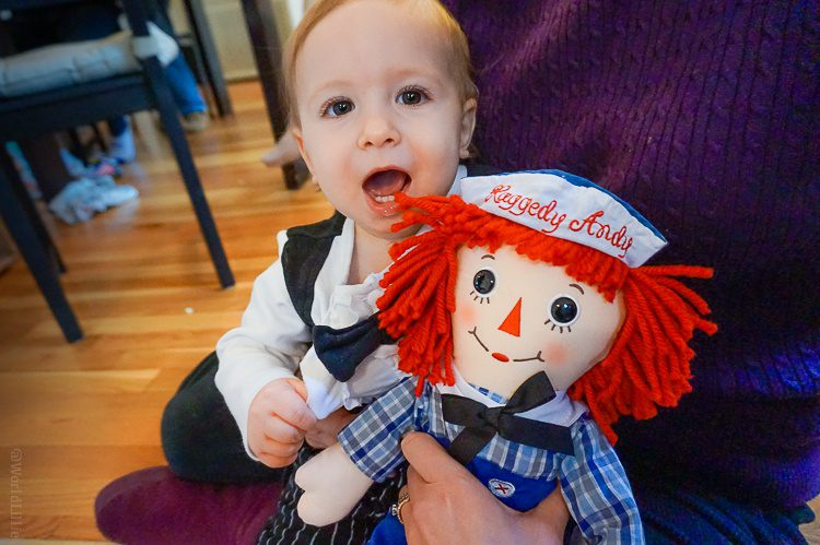 A historic Raggedy Andy doll!