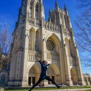 Travel Fashion at Two Free Washington, D.C. Attractions