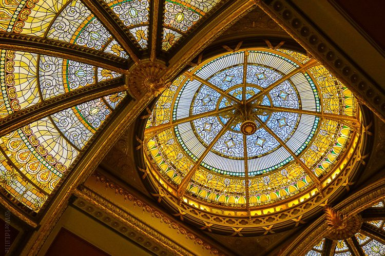 What a ceiling, Executive Office Building!