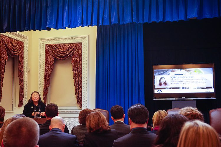 Tina Tchen, the amazing ssistant to President Barack Obama; Chief of Staff to First Lady Michelle Obama; and Executive Director of the White House Council on Women and Girls.