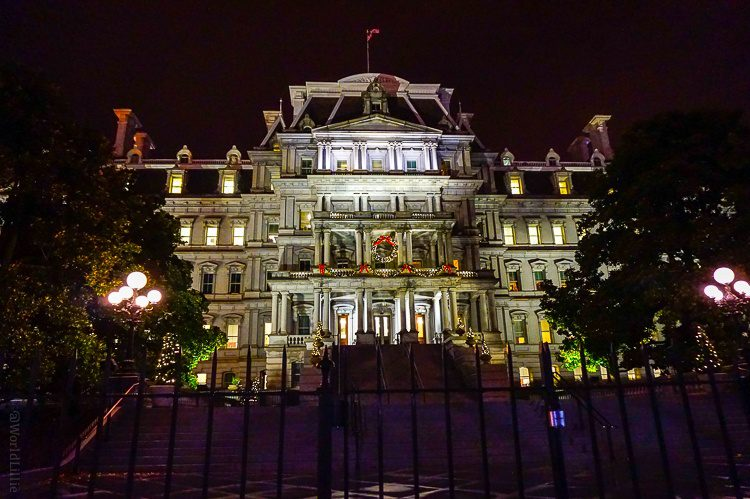 The Eisenhower Executive Office Building in the White House complex: Where the main portion of the summit took place.