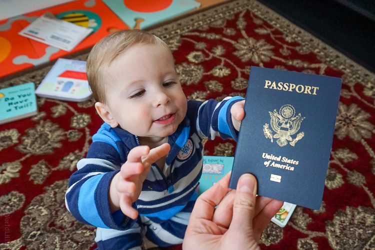 Reaching for the prize: a U.S. Passport!