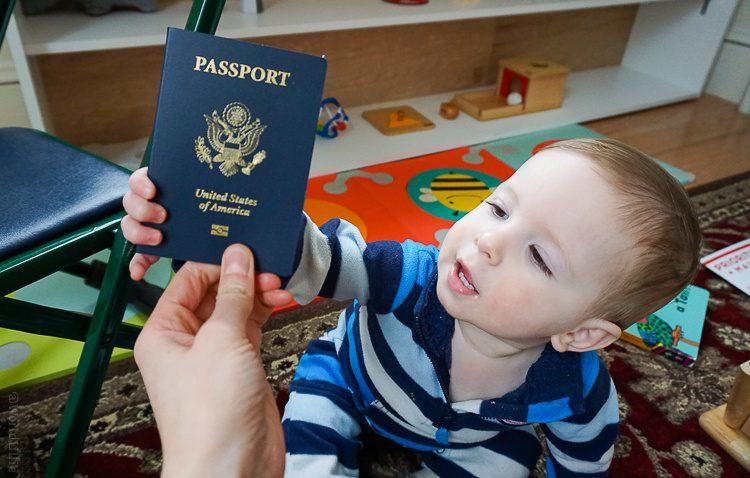 U.S. passport for kids