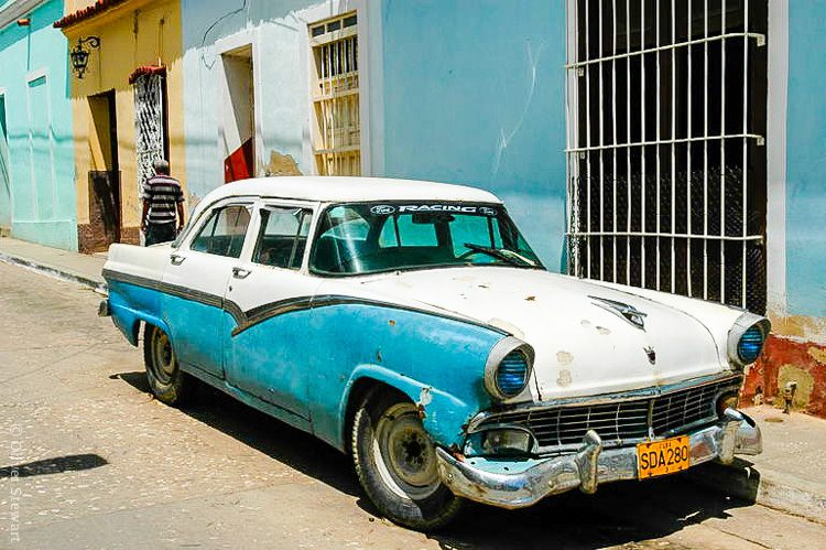 Here's another incarnation of Cuban blues.
