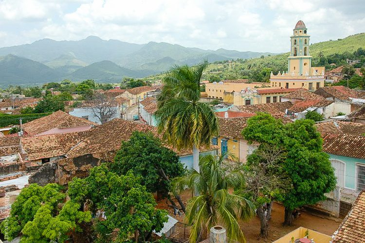A stunning view of Trinidad, Cuba.