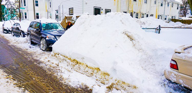 Is that a car or a snowbank?!
