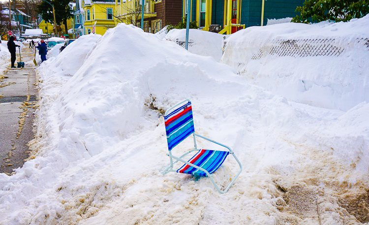 Isn't this beach chair tragic on so many levels?