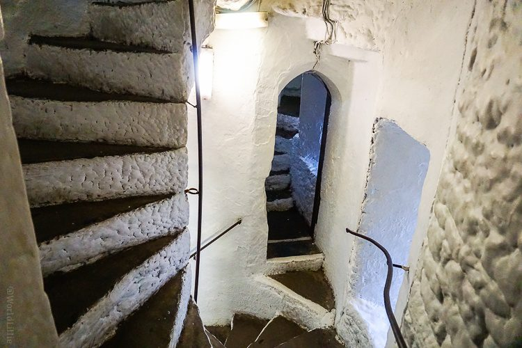 Bunratty castle staircase