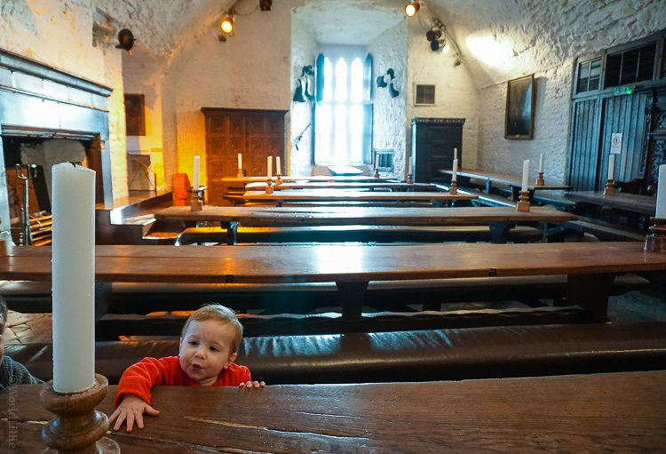 Bunratty castle tables!