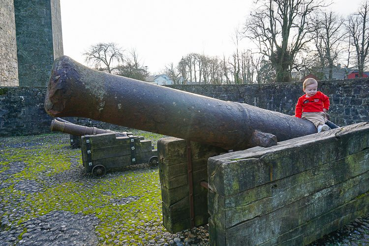 Bunratty Castle cannons