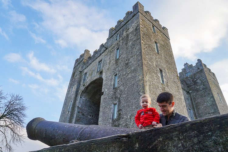 Bunratty Castle and cannon