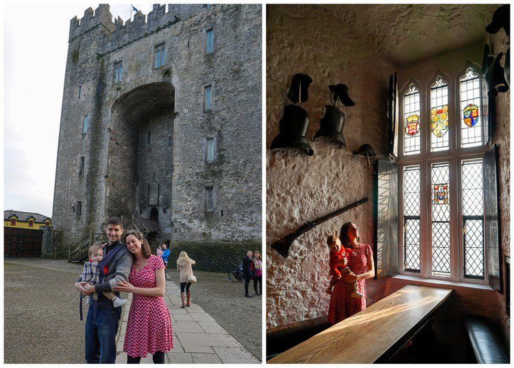 Bunratty Castle, Ireland for family travel