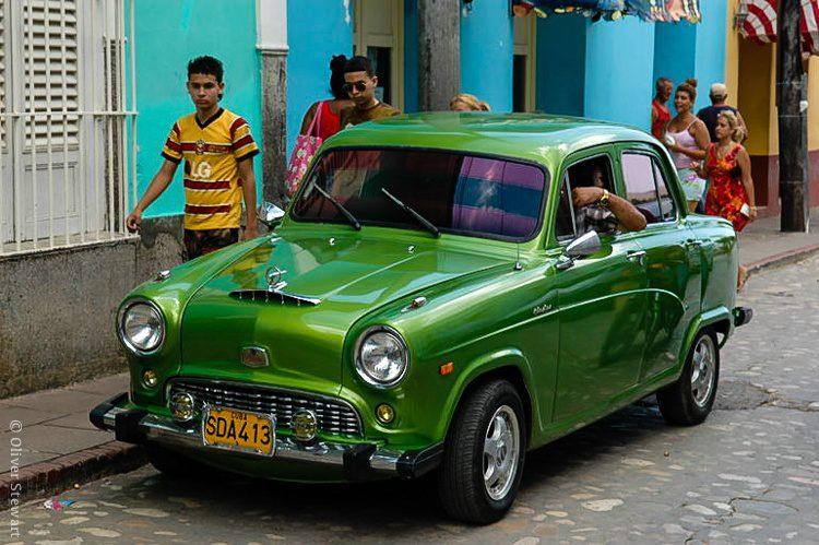 A classic car in Trinidad, Cuba.