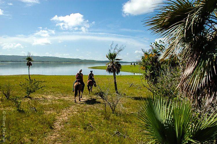 We went on an horseback tour of Viñales. Wow!