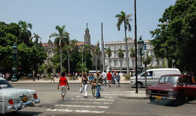A central Havana street scene.