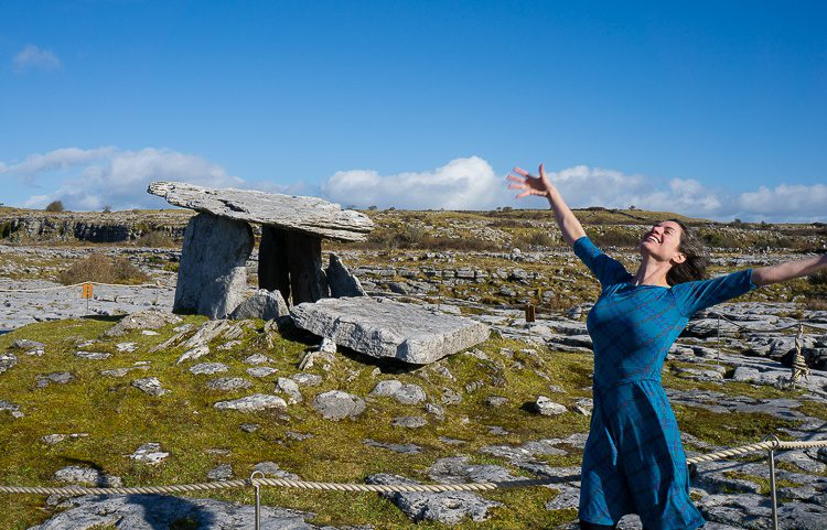 Packing pretty, easy travel dresses made our Ireland trip special!