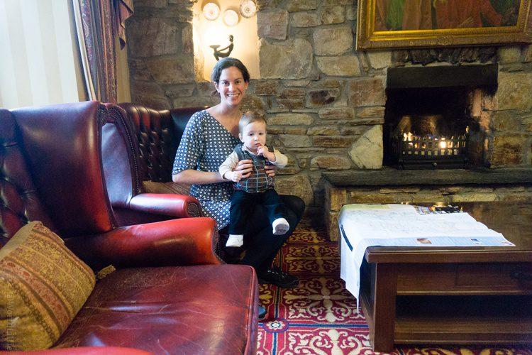 Hotel in a castle in Ireland