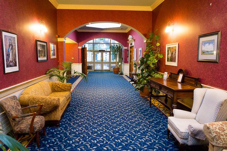 The decor of Knockranny House Hotel is like a warm embrace.