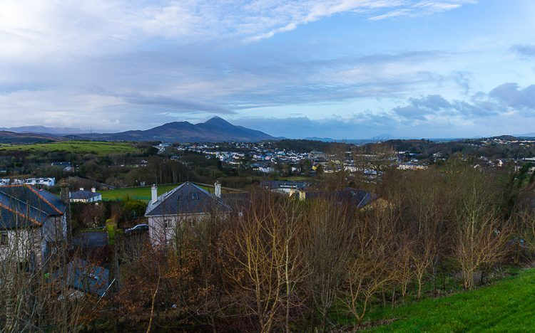 Even in February, Westport was lovely from mountains to bay.