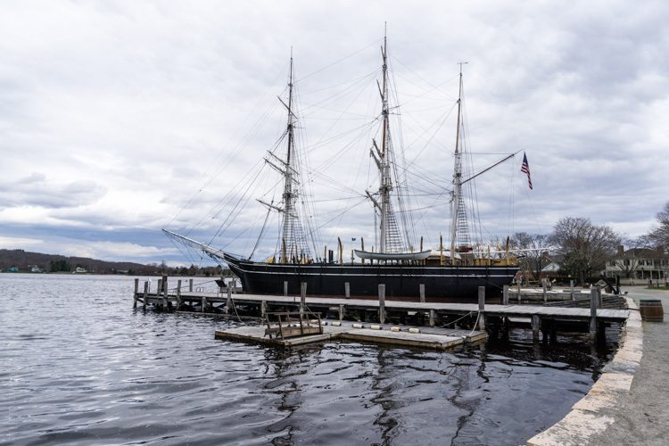 Mystic Seaport is the best place in the country to see famous old ships.
