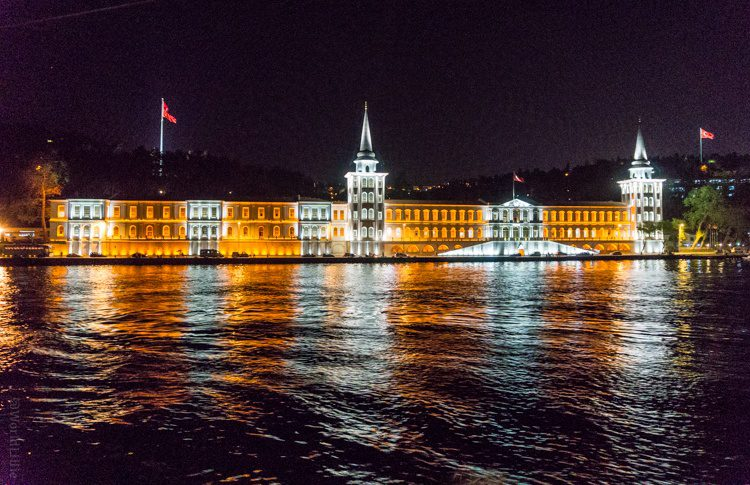 This is my #1 favorite photo of Istanbul at night that I took.