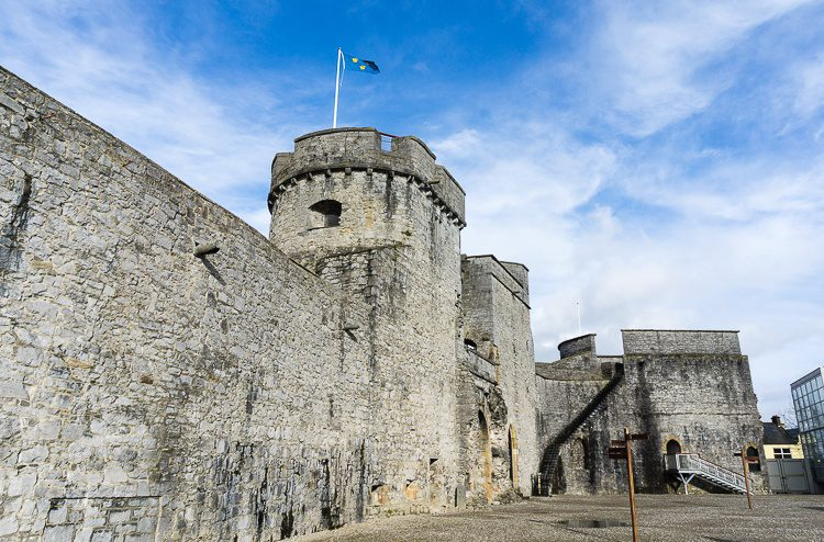 King John's Castle is one of the best places to go in Limerick with kids.