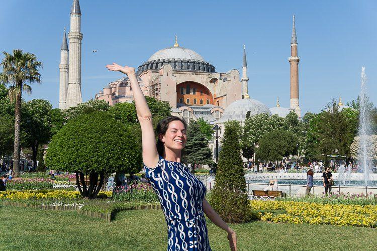 Hello, Hagia Sophia!