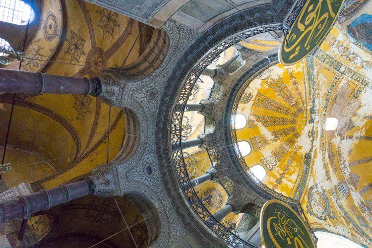 Sideways or upright, Hagia Sophia is the best.