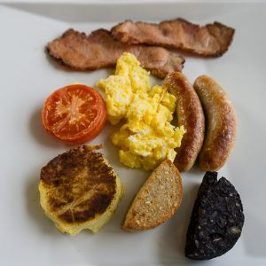 Irish Breakfast and a Luxury Hotel Near Ashford Castle