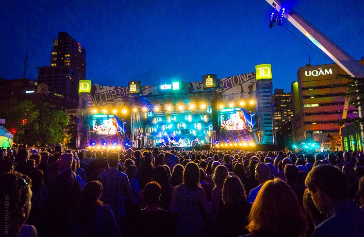 Such excitement at Montreal's Jazz Festival!