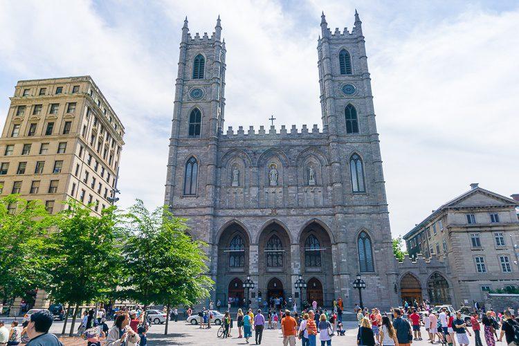 Motreal has a Notre-Dame church!