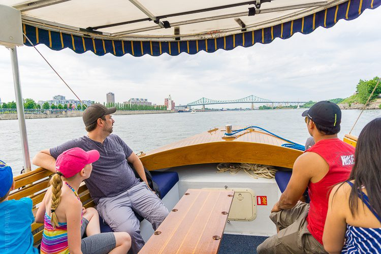 Other families also realized how ideal a boat tour is.
