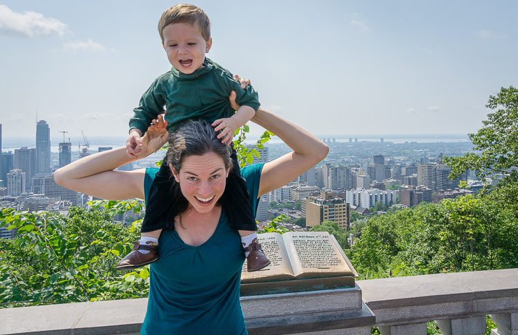 We're on top of Montreal!