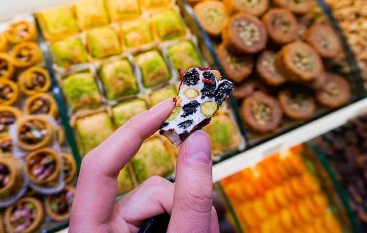 Turkish Delight at spice bazaar Istanbul