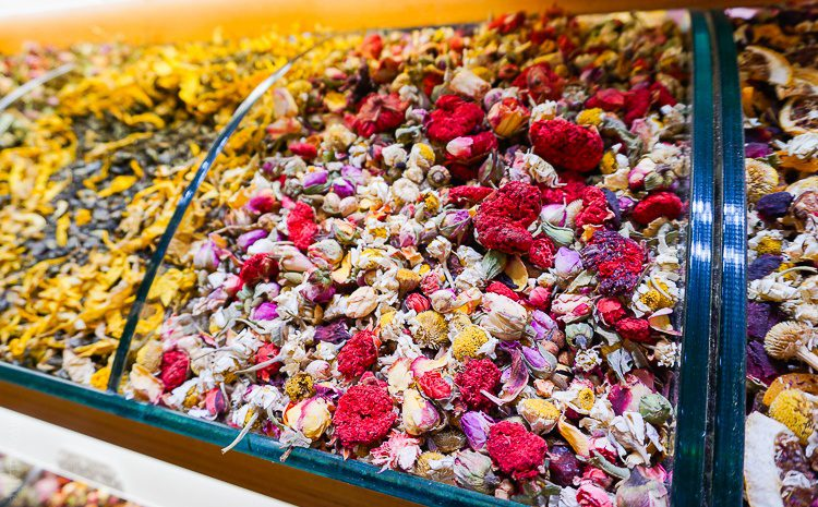 Turkish tea, Spice bazaar