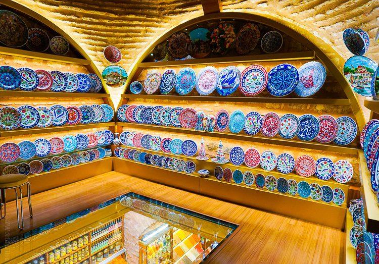 Turkish spice market